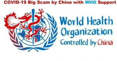 #COVID-19 Big Scam by China with #WHO Support